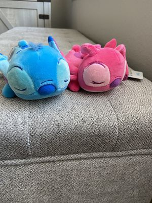 "Stitch & Angel Cuddleeze 6"" NWT Disney for Sale in Riverside, CA"