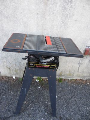 "Sears Craftsman 113.241601 Vintage Table Saw 7 1/2"" Steel W/ Stand 3450 Rpm USA for Sale in Lansdowne, PA"