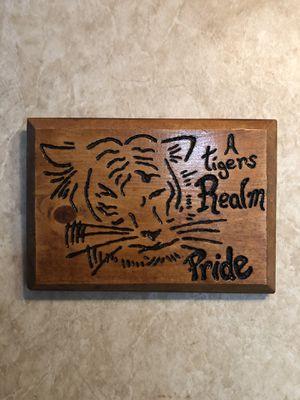 Wood Frame tiger for Sale in Clarksburg, WV