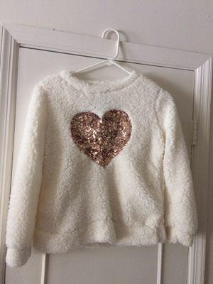 NWT Girls Heart Fleece Sweatshirt for Sale in Tampa, FL