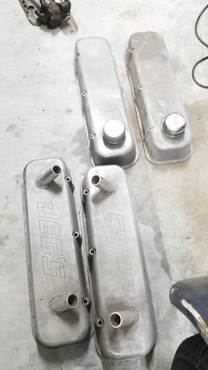 2 pairs of big block Chevy valve covers also have misc other parts as well for Sale in Orange City, FL