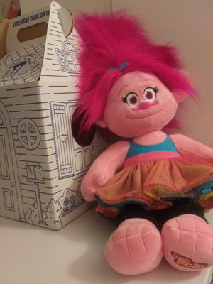 New from Build a Bear Singing Poppy Troll for Sale in Norfolk, VA