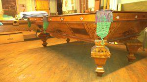 ANTIQUE BILLIARD TABLE BRUNSWICK BRILLIANT NOVELTY for Sale in Philadelphia, PA