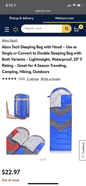2 Sleeping bags with hood for Sale in Dublin, OH