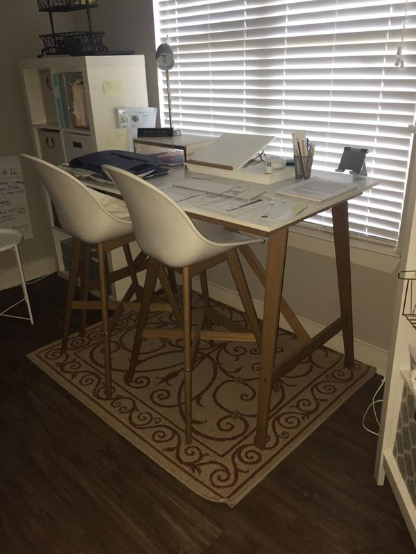 IKEA Fanbyn table and stools