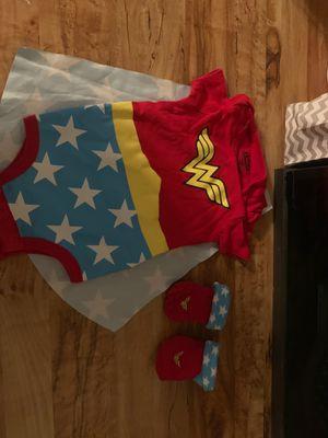 WonderWoman costume 0/6months for Sale in Lancaster, CA