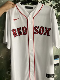 Nike MLB Boston Red Sox Mookie Betts White Home Jersey for Sale in Montclair,  VA