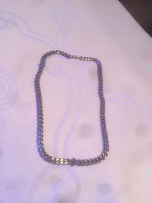 🔥A heavy Silver necklace only for 10$🔥 for Sale in Woodbridge, VA