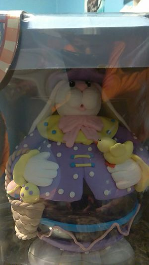 Collectible Glass Easter Bunny for Sale in Irving, TX