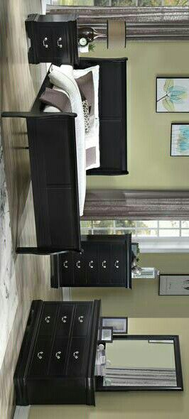 Brand New Black 4-Piece Bedroom Set $399. / King, Queen, Full, Twin. / Online Selling. for Sale in Austin, TX