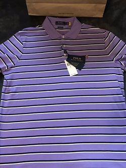 Ralph Lauren 🇺🇸 Polo 🐎 Solid Purple Multi Colored Shirt for Sale in Dallas,  TX