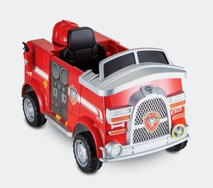 Nickelodeon's PAW Patrol: Marshall Rescue Fire Truck, Ride-On Toy by Kid Trax for Sale in Roswell, GA