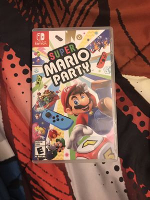 Nintendo Switch Super Mario Party Game for Sale in Chicago, IL