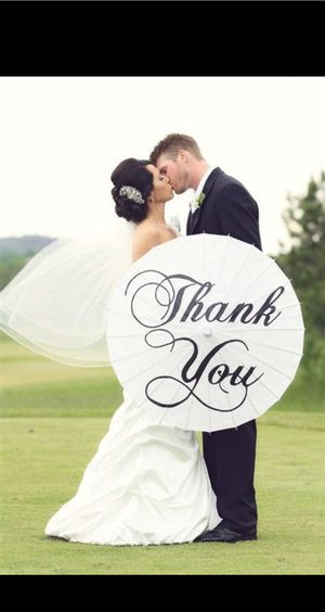 Thank You Pasarol for Wedding Pics for Sale in Barrington, IL