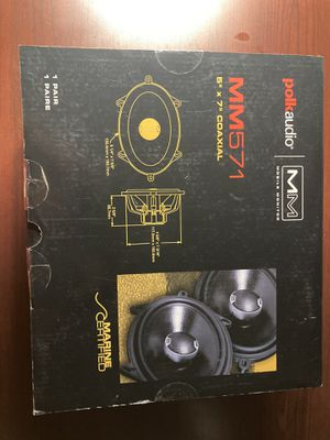 Polk audio mm571 coaxial speaker pair brand new for Sale in South Gate, CA