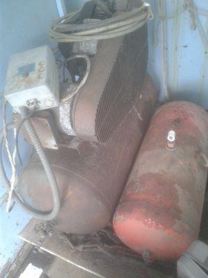 5 hp 50 gallon air compressor w/aux tanks Ajax OBO for Sale in Lake Stevens, WA