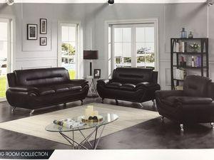 3 pcs pu sofa set for Sale in Columbus, OH