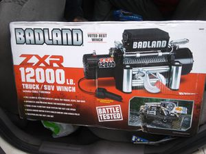 BADLAND ZXR 12000 Truck and SUV WINCH for Sale in Tacoma, WA