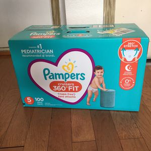 Pampers Cruisers SIZE 5 100 pañales for Sale in Compton, CA