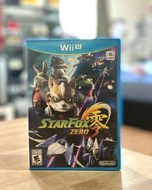 StarFox Zero for Wii U Nintendo for Sale in San Jose, CA