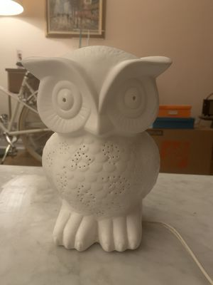 Owl lamp for Sale in Brooklyn, NY