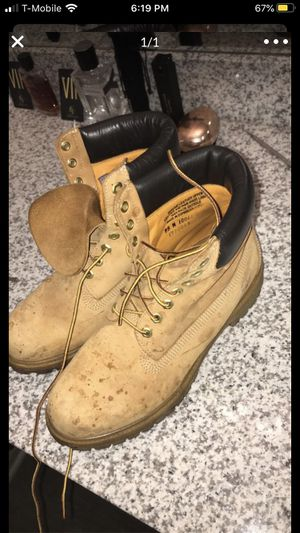 Timberland boots size 9.5 Men's for Sale in New Waverly, TX