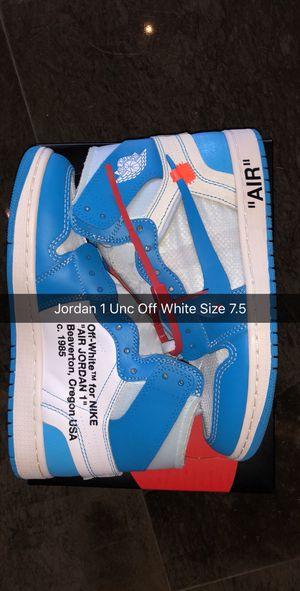 Jordan 1 Off white Unc size 7.5 New for Sale in Miami, FL
