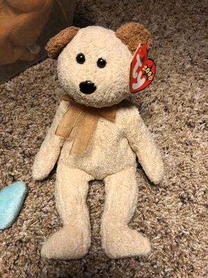 Huggy the Teddy Bear Beanie Baby retired vintage plush doll NWT beanie babies for Sale in Phoenix, AZ
