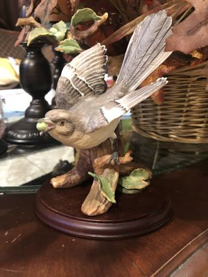 Home interior Mockingbird Figurine Porcelain for Sale in Hayward, CA