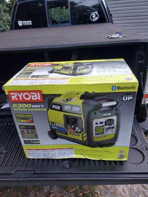 Ryobi BLUETOOTH generator for Sale in Riverview, FL