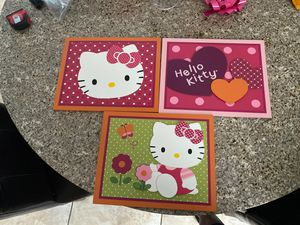 Hello Kitty wall decor for Sale in Lighthouse Point, FL