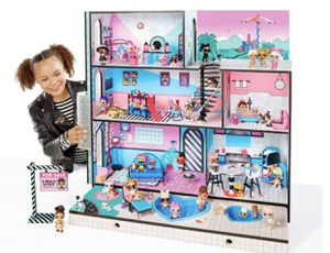 Lol doll house accessories not included for Sale in Mount Laurel Township, NJ