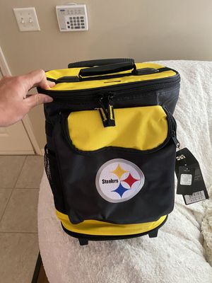 Steelers Rolling Cooler Bag for Sale in Pittsburgh, PA