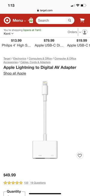 Apple HDM tv for Sale in Auburn, WA