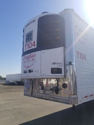 2016 great dane 48ft reefer tk s700 forever unit low hours for Sale in Sacramento, CA