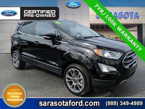 2019 Ford EcoSport for Sale in Sarasota, FL
