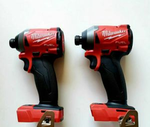 Milwaukee M18 FUEL 18-Volt Lithium-Ion Brushless Cordless 1/4 in. Hex Impact Driver (Tool-Only) $99 EACH!! for Sale in Fullerton, CA