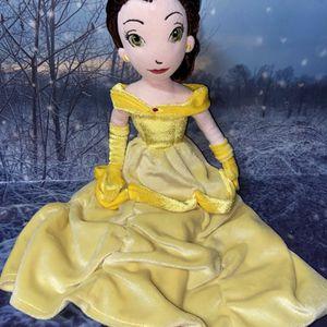 """Disney Beauty & The Beast Rag Doll Belle 16"""" for Sale in Long Beach, CA"""