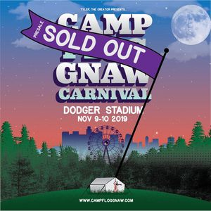 ONE CAMP FLOG GNAW 2019 TICKET/ WRISTBAND for Sale in Grand Terrace, CA