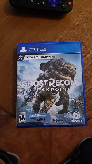 Ghost recon break point for ps4 for Sale in Phoenix, AZ