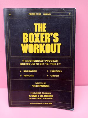 Vintage 1990 The Boxers Workout book for Sale in Waterbury, CT