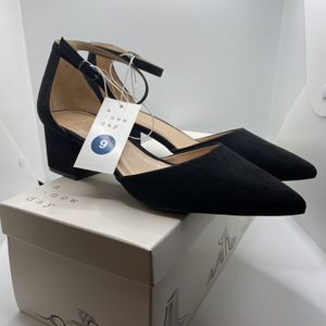 A New Day Black Low Block Heels (Size 9) for Sale in Sunrise Manor, NV