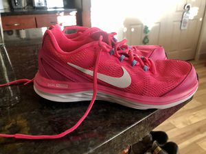Bright Pink Nike Running Shoe Woman's Size 8 for Sale in Phoenix, AZ