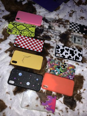 iPhone XS Max Cases bundle for Sale in Elmira, NY