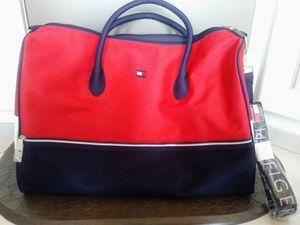 Vintage TOMMY HILFIGER Duffle Travel Bag carry on NEW for Sale in Sebastian, FL