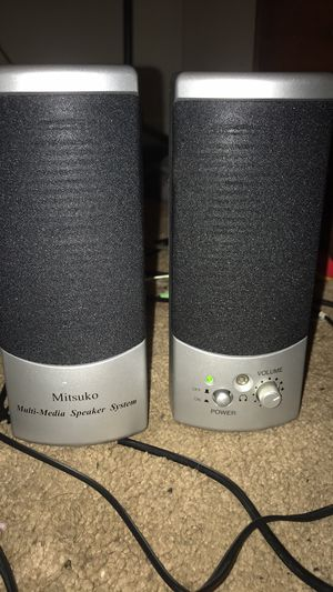 Mitsuko Computer Speakers for Sale in Jackson, TN