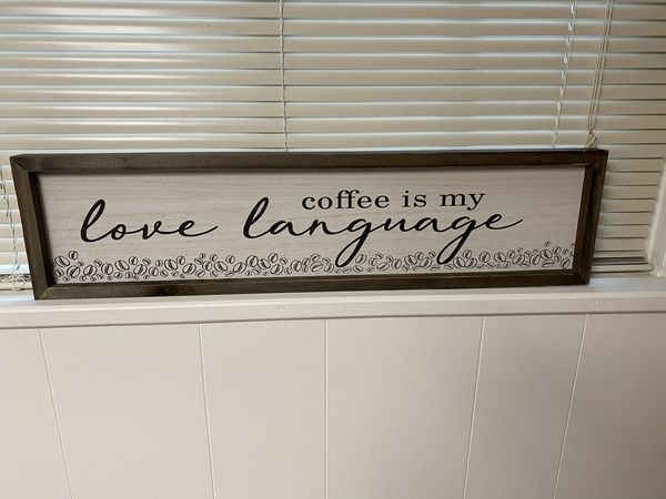 Wall Decor - wooden sign