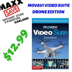 MOVAVI VIDEO SUITE DRONE EDITION for Sale in Garland, TX