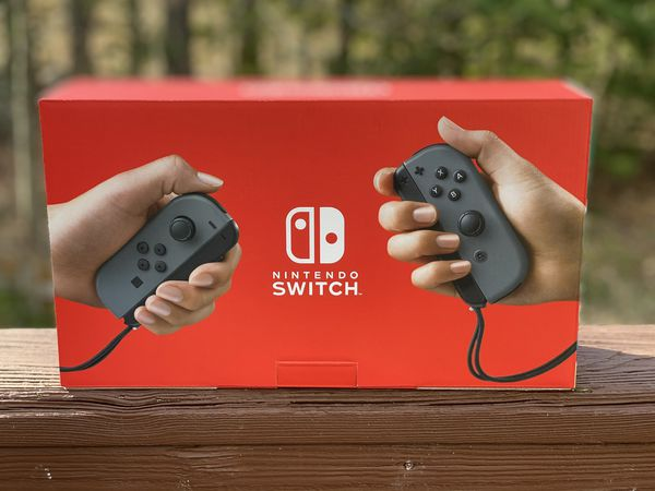 Nintendo Switch V2 Grey color