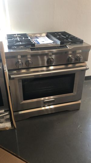 "New Kitchen Aid 36"" Gas Range with Built-in Cooktop for Sale in Houston, TX"